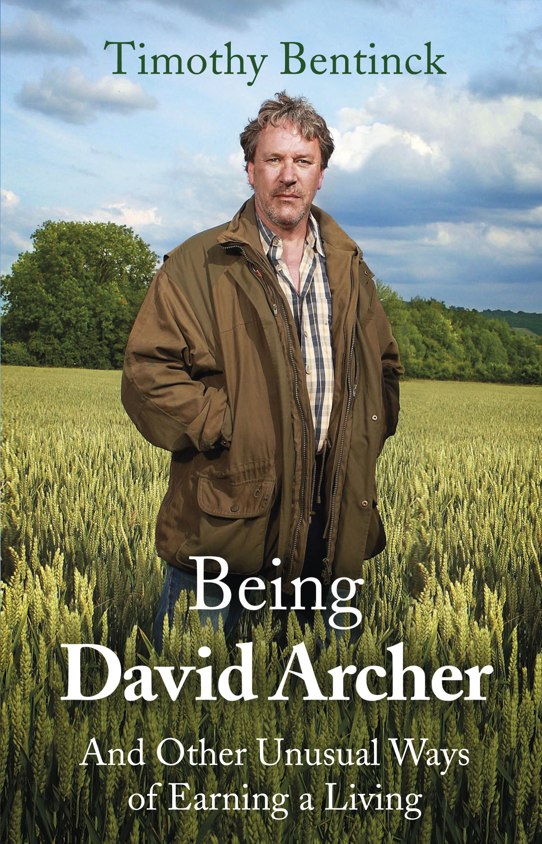 Being David Archer and Other Unusual Ways of Earning a Living