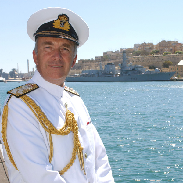 Rt Hon Admiral Lord Alan West Image
